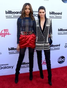 kendall-jenner-jourdan-dunn-balmain-billboard-music-awards-2015-h724