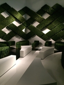 Labyrinth garden room, like Miss Chanel's for inspiration.