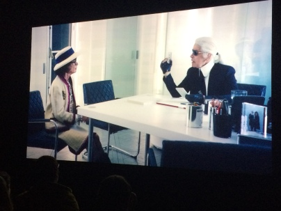 Movie made by Lagerfeld himself.